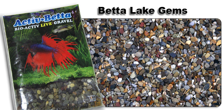 Activ Betta™ Bio-Activ Live Gravel Betta Lake Gems
