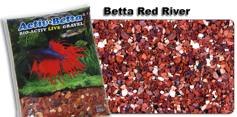 Activ Betta™ Bio-Activ Live Gravel Betta Red River
